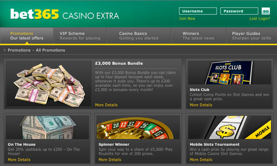 mobile bet365 casino