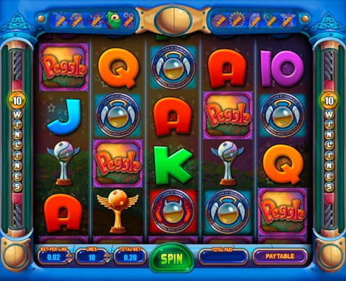 Peggle Nights Slot Feature