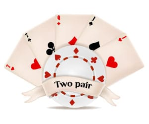 2 pairs in poker who wins