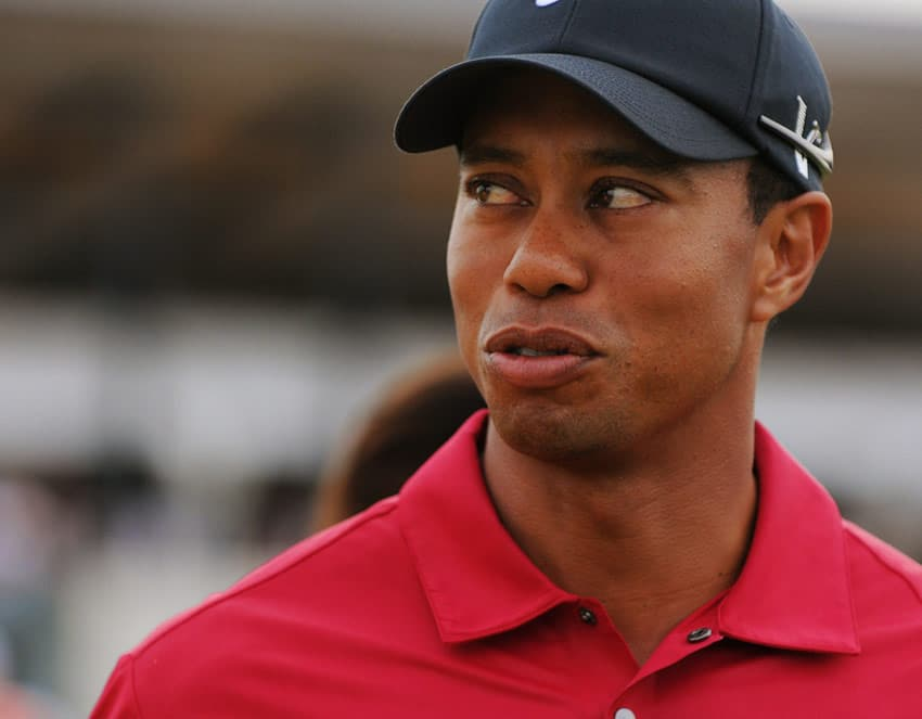 Tiger Woods US Masters Golf