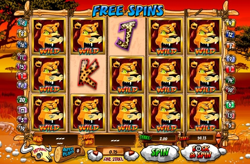 Wild Gamblers Fruit Machine Bonus