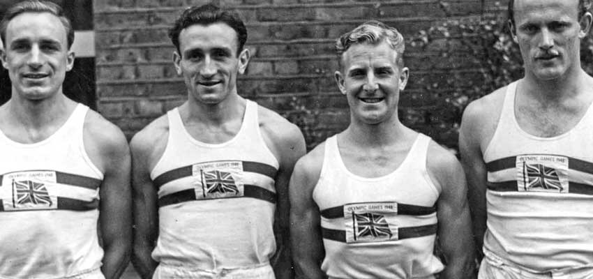 British Olympic Team - Supplied By Norman Walsh