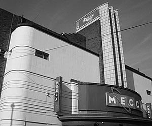 Beautiful Art Deco Mecca Bingo Hall
