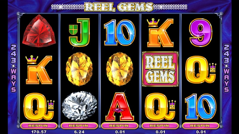 Gems Gems Gems Slot Machine - Play this Online Game for Free